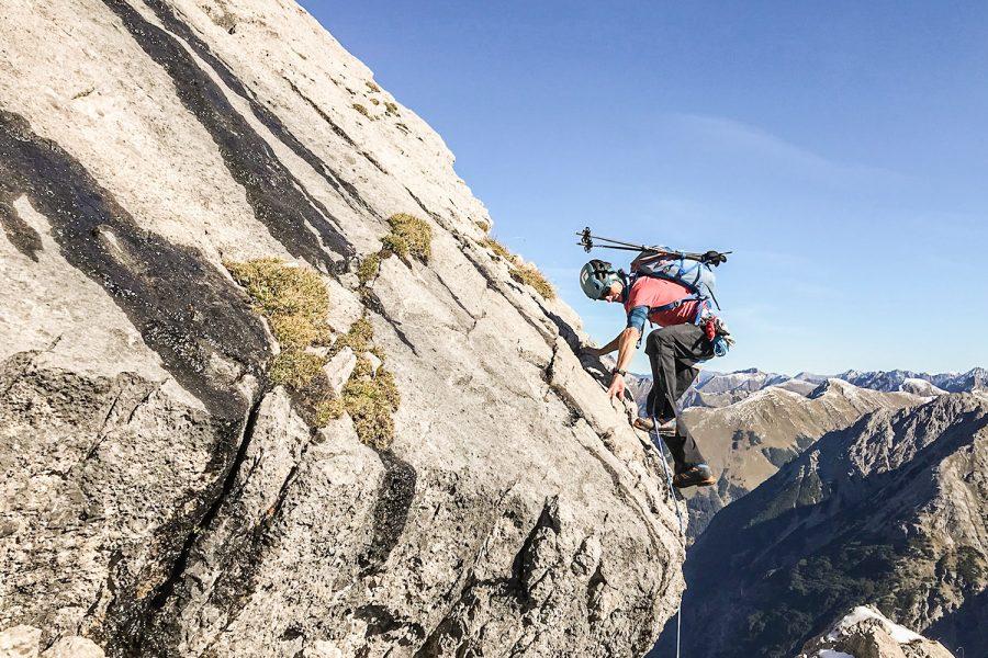Vom Alpintouristen zum Alpinisten